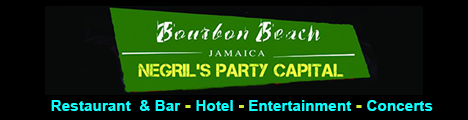 Go to Bourbon Beach Jamaica Web Site - Restaurant & Bar, Hotel, Entertainment, and  Concerts, Norman Manley Boulevard, Negril, Jamaica