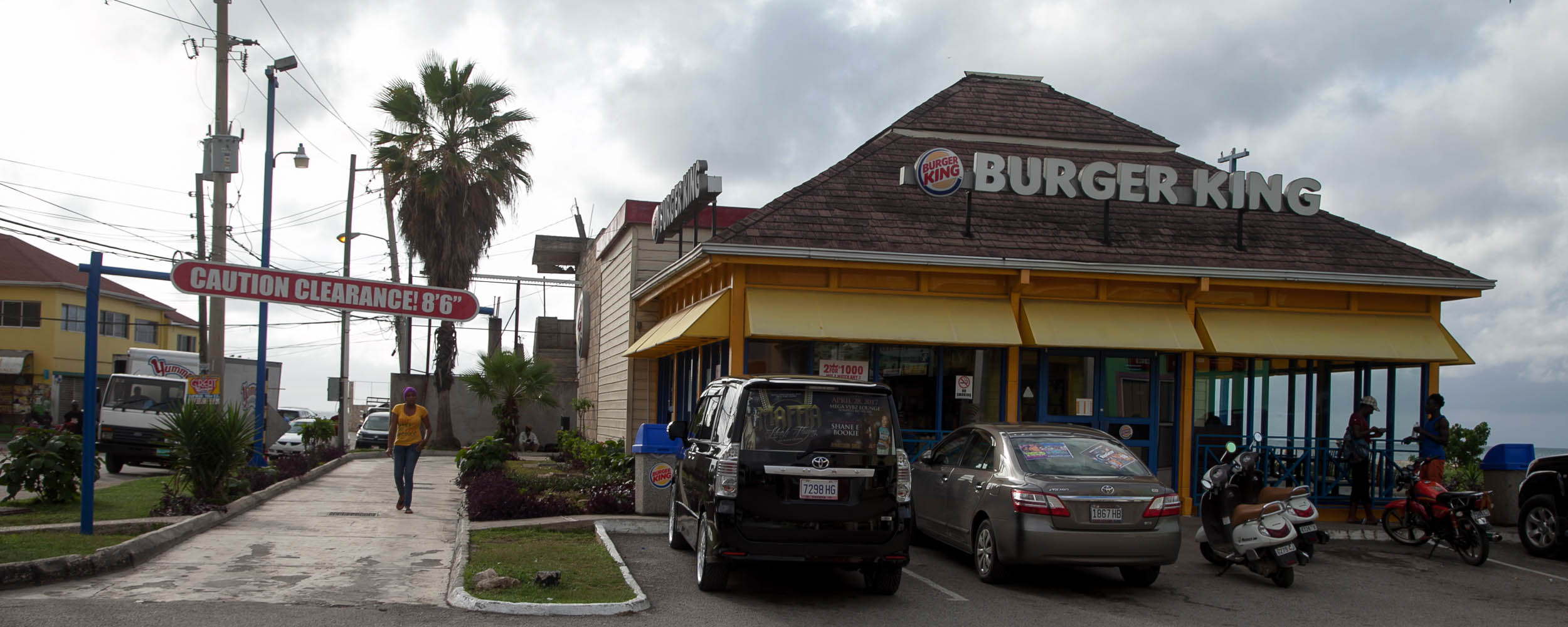 Burger King @ Negril Centre - Negril Jamaica
