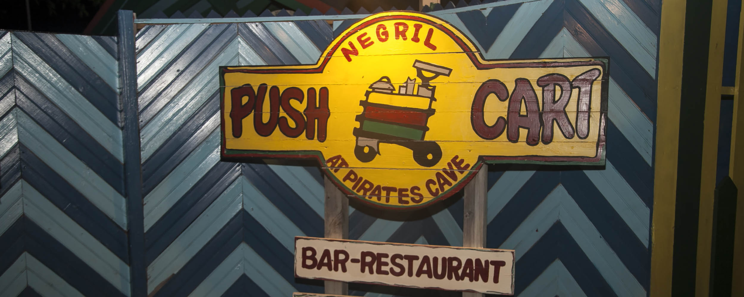 Push Cart Restaurant and Bar, West End, Negril Jamaica