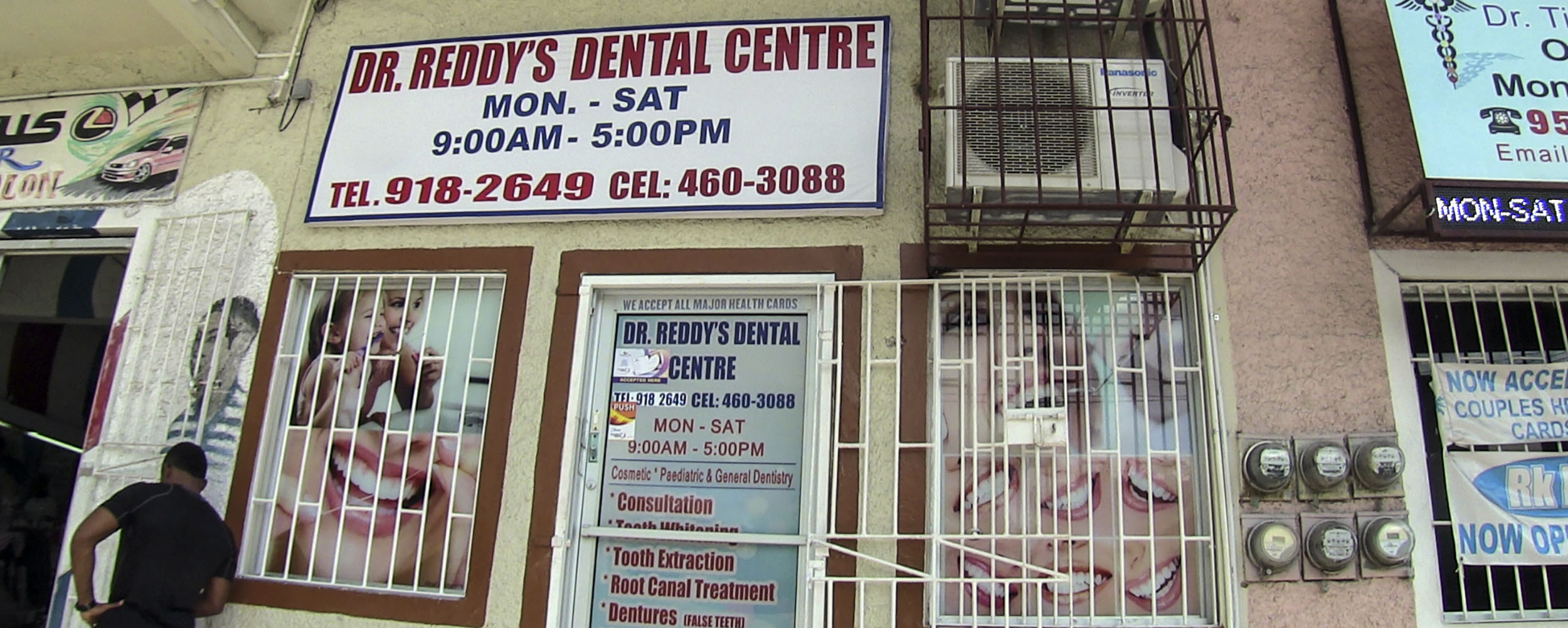 Dr. Reddy's Dental Office - White Swan Plaza - Nonpareil Road, Negril Jamaica