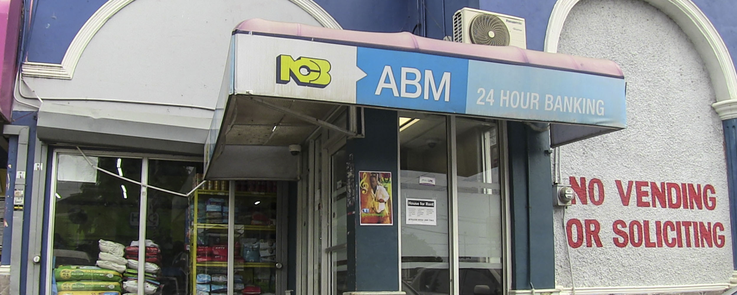 NCB National Commercal Bank ABM - Value Master Plaza - Negril Center - Negril Jamaica