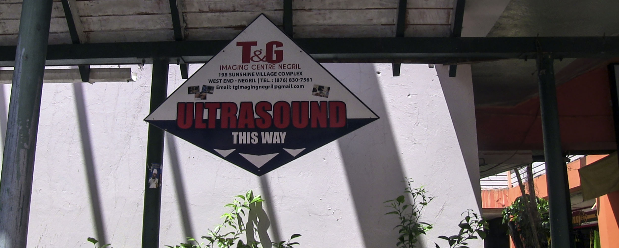 T & G Imaging Centre Negril - Sunshine Village Complex - West End Road - Negril Jamaica