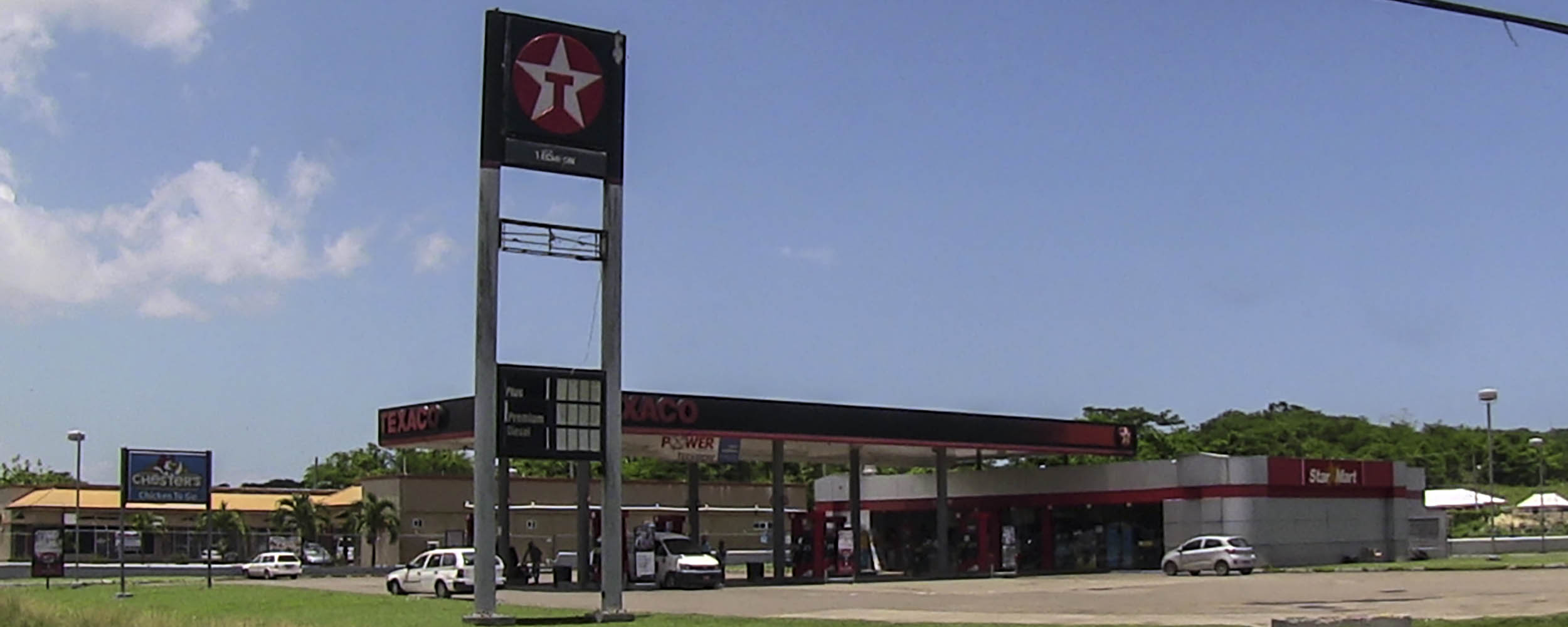 Texaco Station - Nonpareil Road - Negril Jamaica