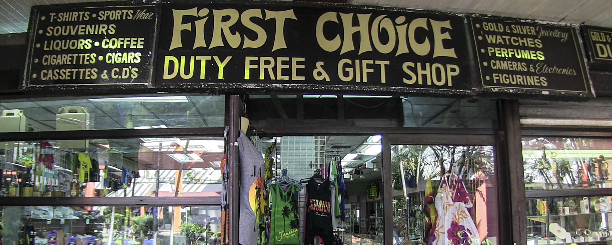 First Choice Duty Free - Sunshine Village Complex - Negril Jamaica