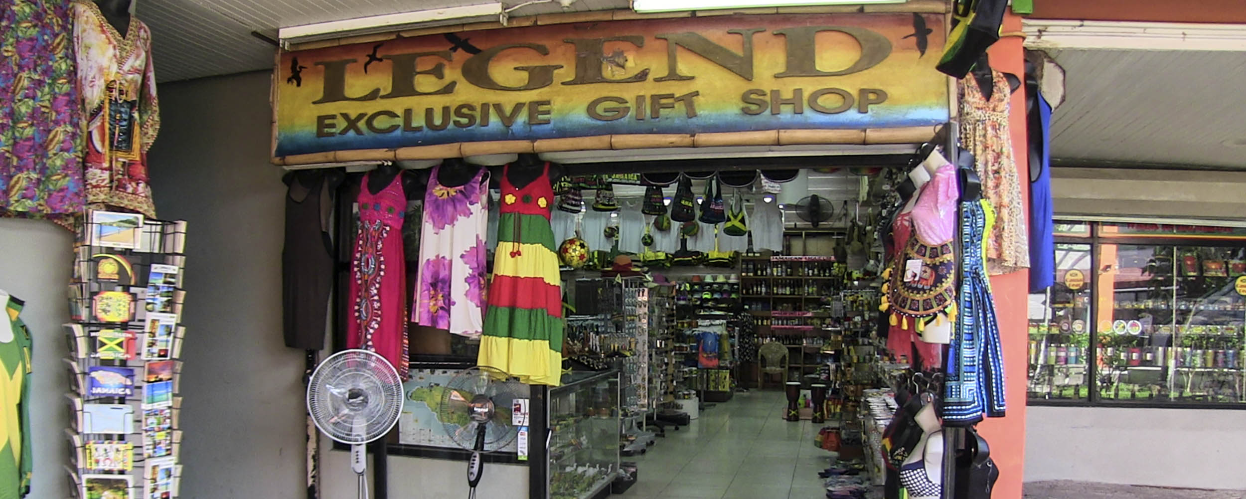 Legend's Exclusive Gift Shop - Sunshine Village Complex - Negril Jamaica