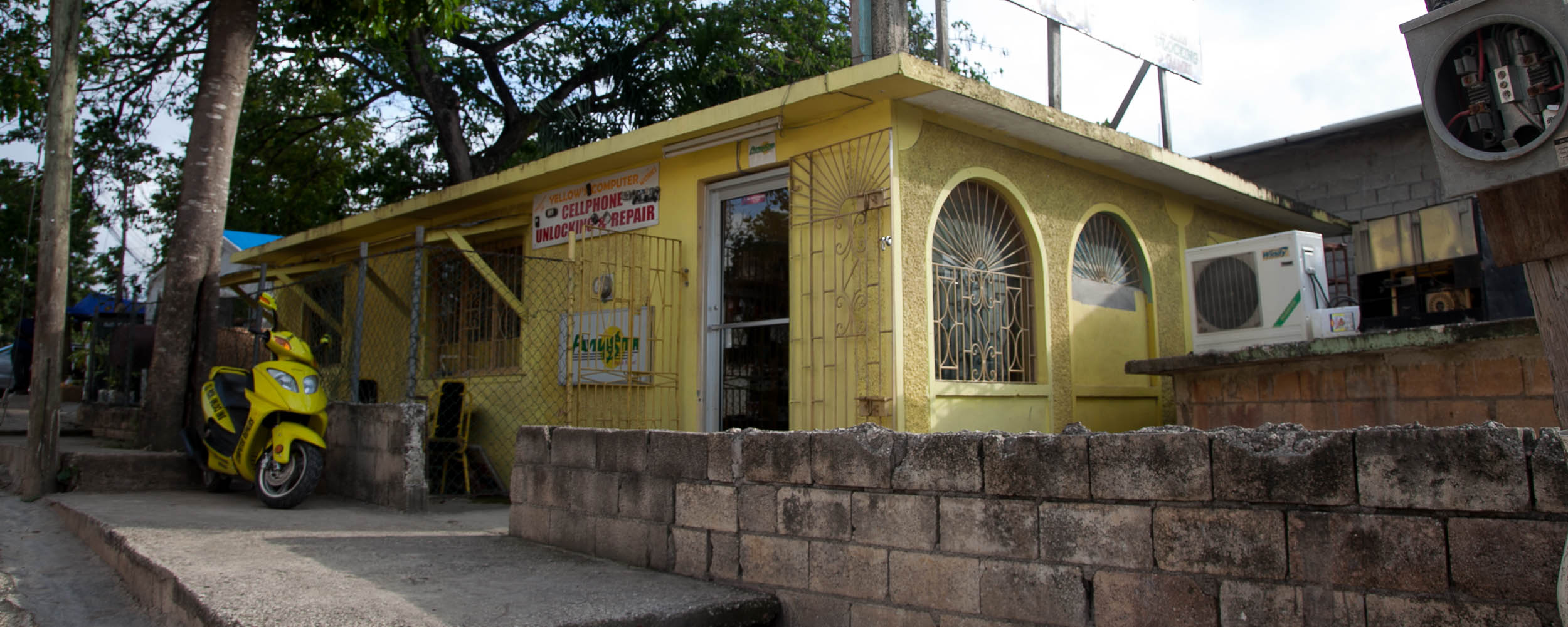 Yellow's Computer Works - Negril Jamaica