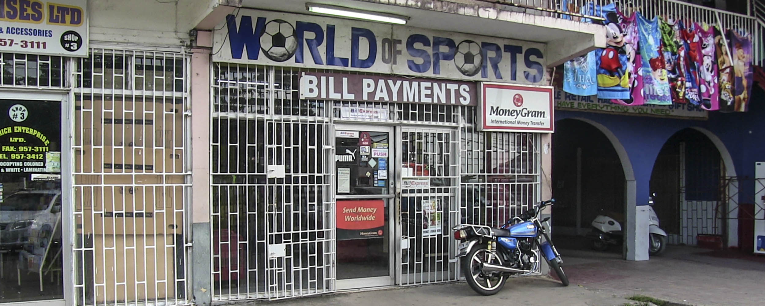 World of Sports - Value Master Plaza - Negril Jamaica