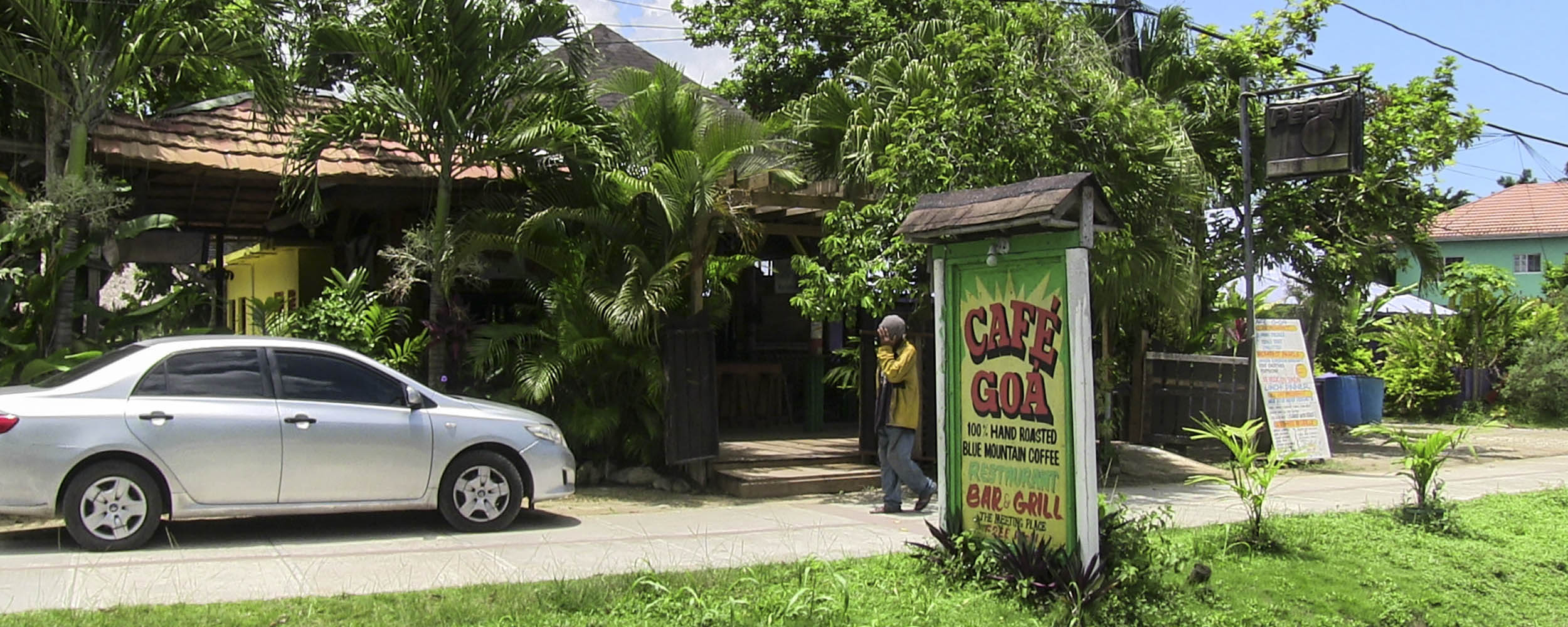 Cafe GOA, Norman Manley Boulevard, Negril Jamaica