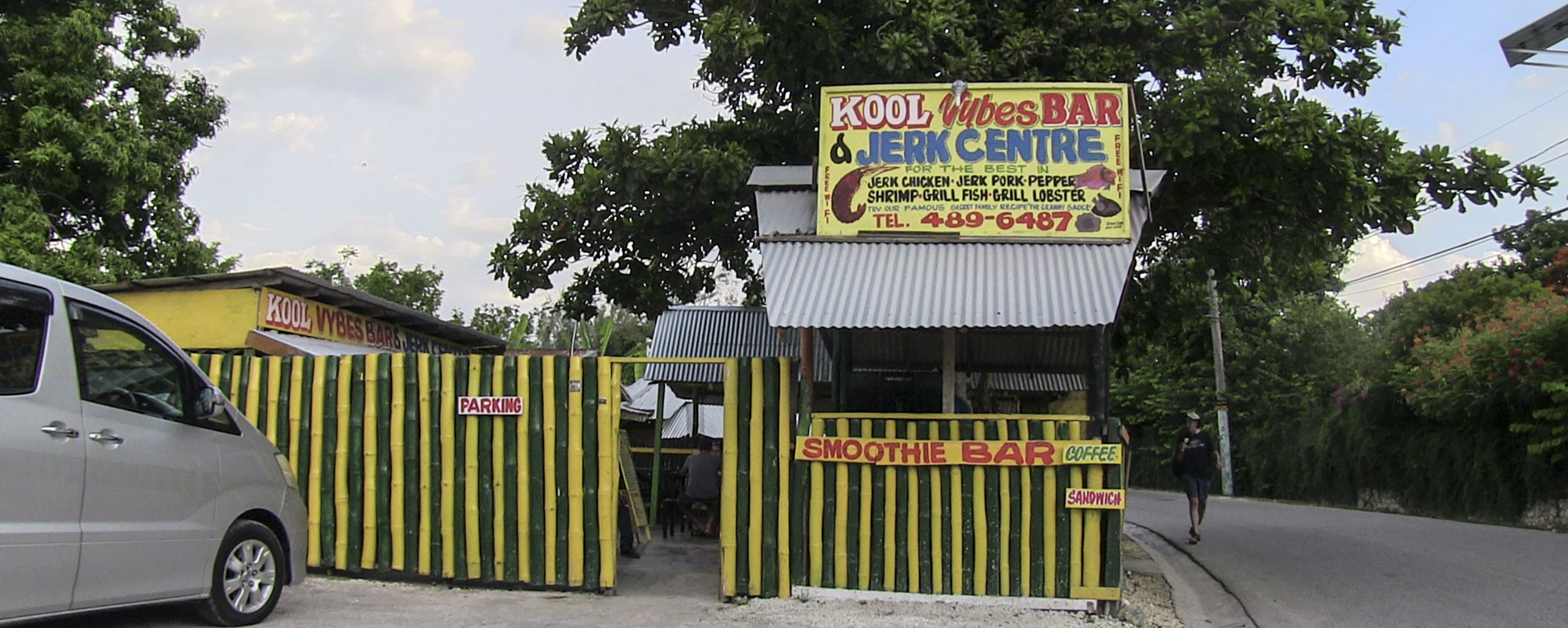 Kool Vybes Bar & Jerk Centre, West End, Negril Jamaica