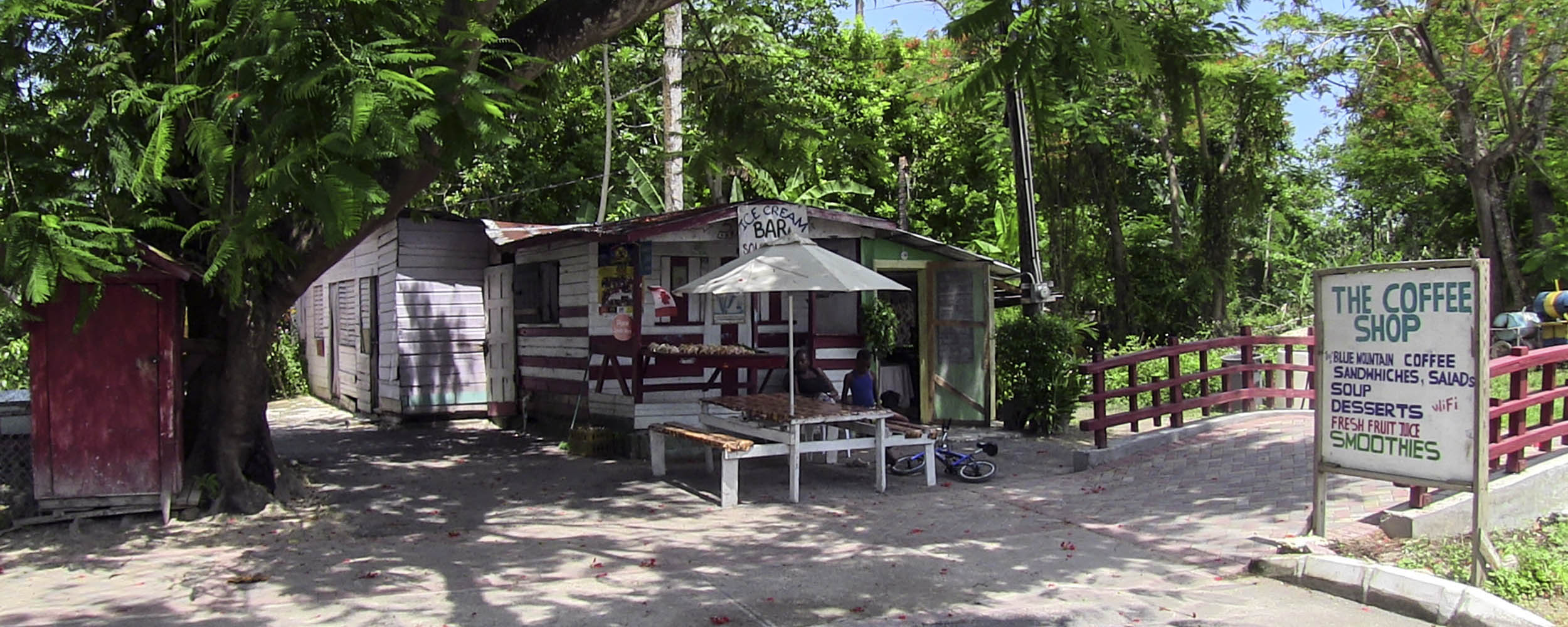 The Coffee Shop, Norman Manley Boulevard, Negril Jamaica