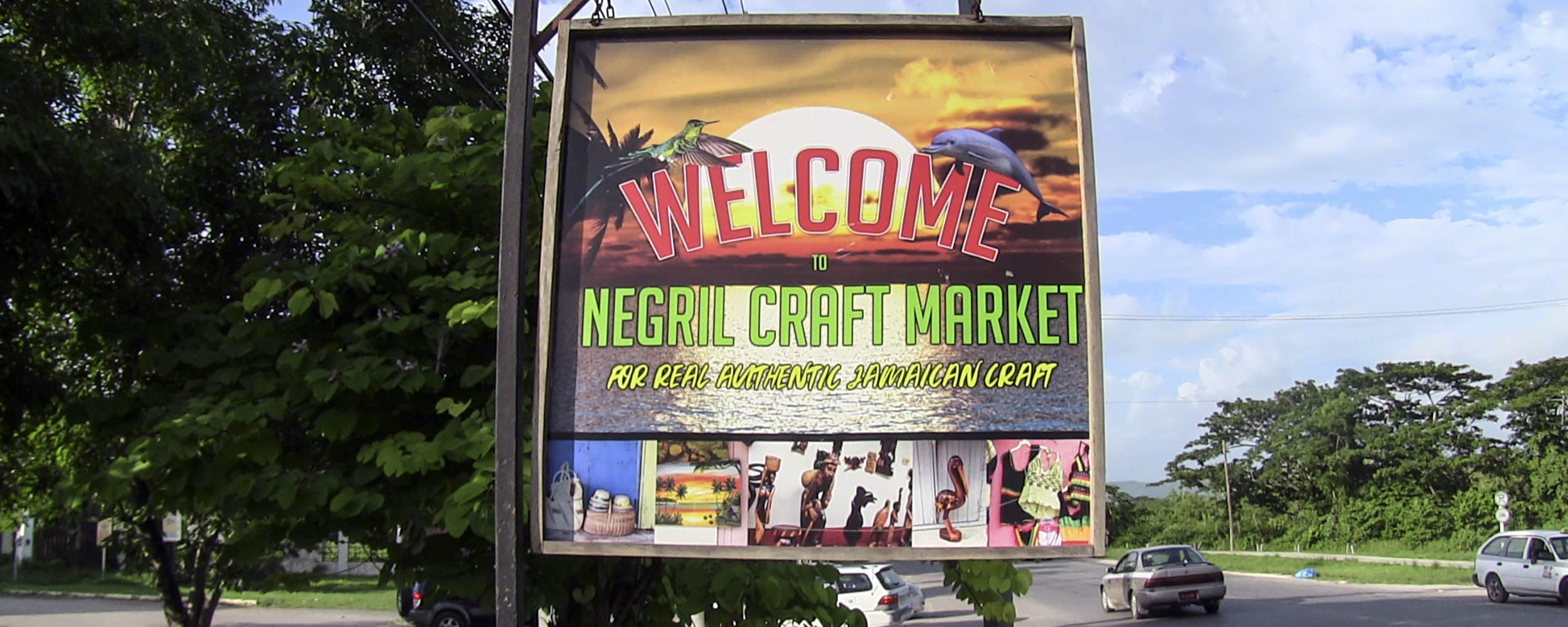 Negril Craft Market - Norman Manley Boulevard - Negril Jamaica