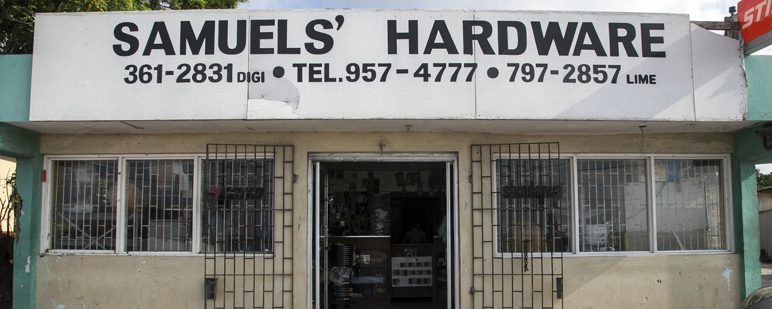 Samuel's Hardware - West End Road - Negril Jamaica