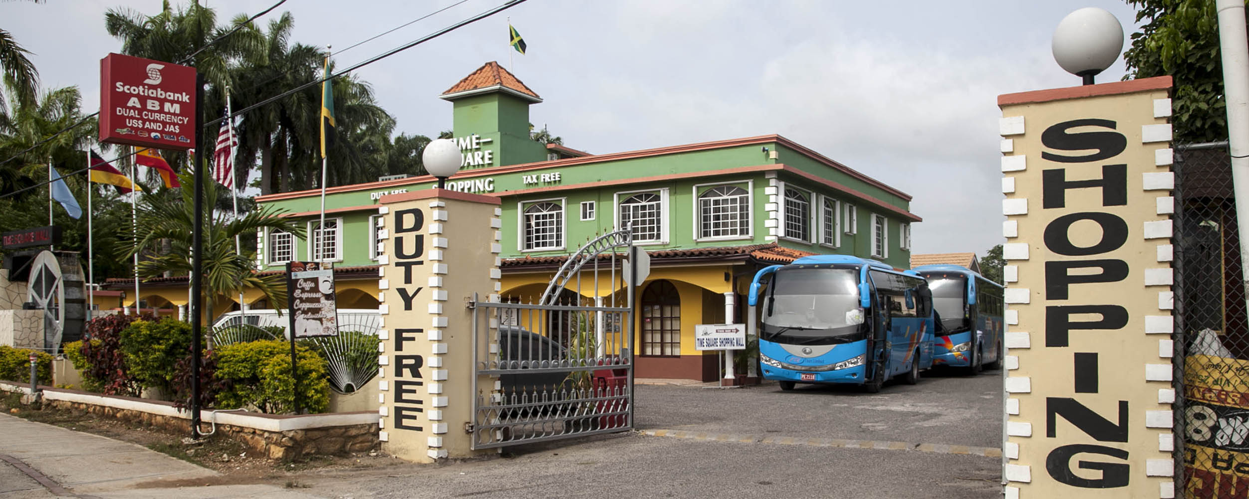 Time Square Duty Free Shopping, Norman Manley Boulevard - Negril Jamaica